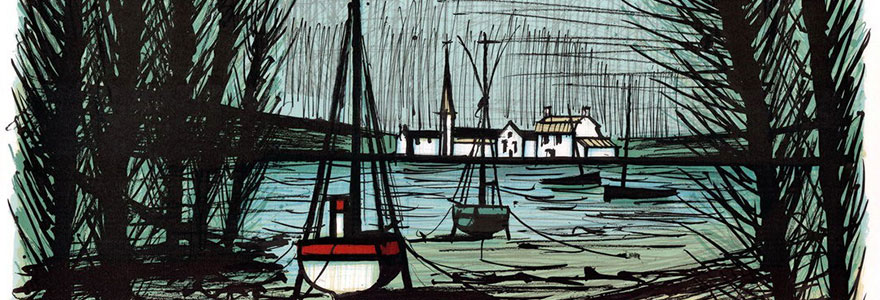 tableaux de paysages peints par Bernard