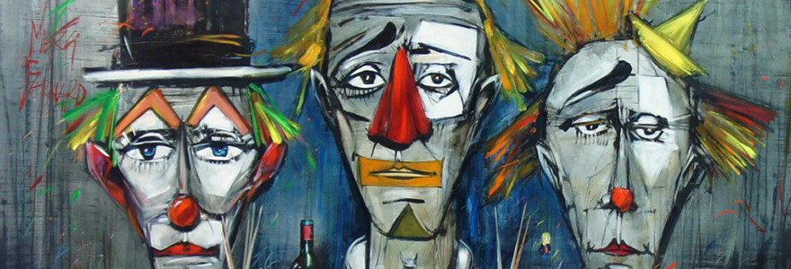 clowns de Bernard Buffet